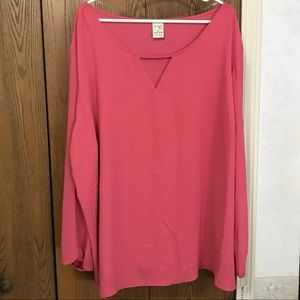 Beautiful silky pink blouse! NWT